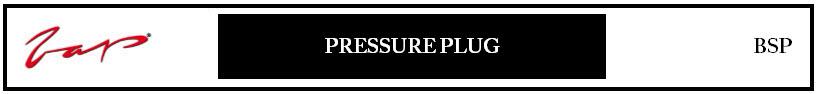 Pressure Plug