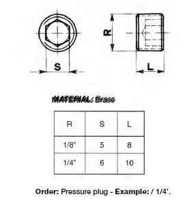 BSP_Pressure Plug
